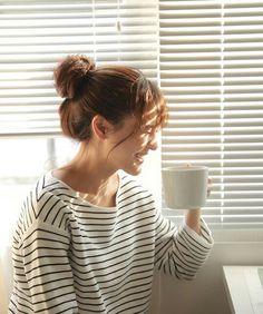 Aom sushar manaying having coffee...