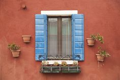 Shutters and Wall Pots