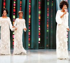 """November 19, 1967: Diana Ross & The Supremes rehearse """"In & Out of Love"""" for The Ed Sullivan Show"""