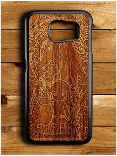 Zelda Tree Force Wood Design Samsung Galaxy S6 Case