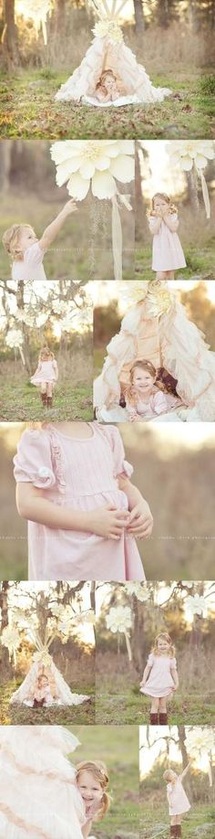 Love this girlie teepee!!   Chubby Cheek Photography Houston, TX Natural Light Photographer by teri-71