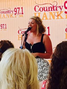 Guess who we got to spend our lunch with today?! We just love when @Lauren_Alaina comes to the #HankFM studios!