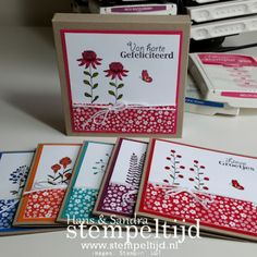 Flowering Fields Stamp Set - Stampin' Up! - SAB 2016 - products available at htyp://marlowememories.stampinup.net