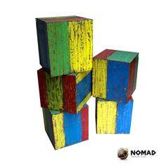 #Sidetables#coloured furniture @ Deedidit D.