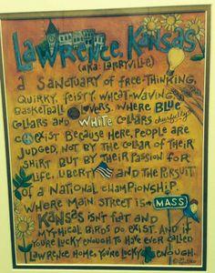 Kansas ~ Lawrence