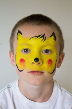 Image result for pikachu face paint
