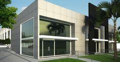 Fachada com acabamento de Vidro de AUREUM Arquitetura & Interiores - 49864 no Viva Decora