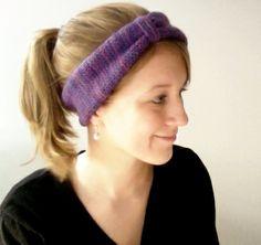 wiseknits: Urban-Inspired Ear Warmer - Free Pattern!