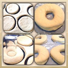 masa para donuts Doughnut, Food And Drink, Menu, Cooking, Desserts, Empanada, Cakes, Cold Appetizers, Cookies