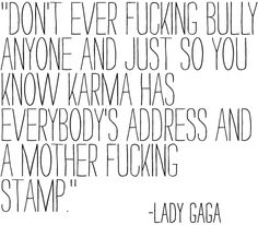 Gaga may not be my favorite but I like to think this is true.