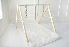 New To Fawn Over Baby Shop!! Wooden Baby Play Gym//Fawn Over Baby