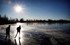 I'm still Dutch and would love to skate on natural ice (lakes and canals) this Christmas, followed by hot chocolate from a little stall nearby.