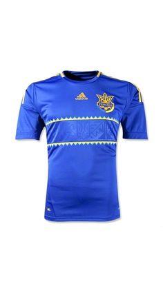 Wholesale Thailand Quality Euro CUP 2012 Ukraine Away soccer kits,Ukraine 2012 uniforms jerseys,Ukraine national team kits 2013 at soccerworldmall.com