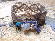 macrame bracelet by mariannamich