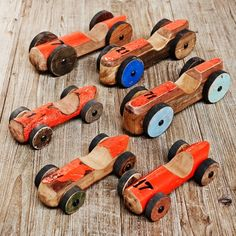 Ornamental Wooden Toy Cars - Home Decoration - Home Accessories