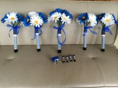 Doctor Who Sonic Screwdriver Wedding Bridal Bouquet by ShaesBridal