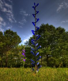 Bottle Tree @ Cypress Garden by Lou Harkey, via Flickr