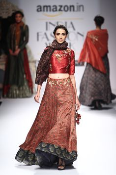Joy Mitra. AIFW A/W 16'. Indian Couture.