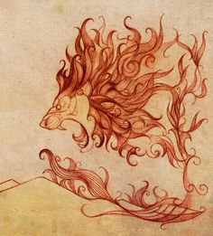 lion with a crown tattoo | tattoo #Lion tattoo
