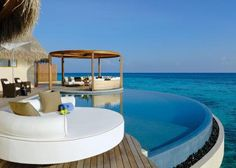 I could really enjoy the W Retreat and Spa, Maldives