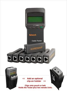 LANTEST-PRO-II Cable Tester with 8 Remotes