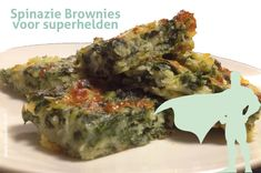 Spinazie brownies voor superhelden - Moodkids | Moodkids