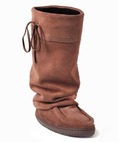 Take a look at the Manitobah Mukluks Copper Tall Hunter Suede Boot on #zulily today!