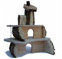 Treeblocks Small Treehouse, by Dragonfly