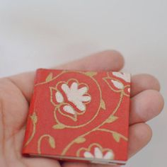 Items similar to Handmade Miniature Book entitled DREAM Book Quotes, My Design, Miniatures, Books, Handmade, Etsy, Products, Livros, Hand Made