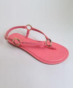 Pink Nadya Sandal #zulily #zulilyfinds