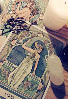 Arcane Mysteries | #tarot #moon #illustration