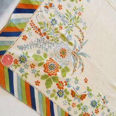 Vintage 1920s Tablecloth Unused Butterflies Japan by Revvie1, $36.00