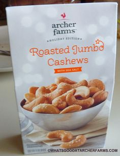 What's Good at Archer Farms?: Archer Farms Roasted Jumbo Cashews