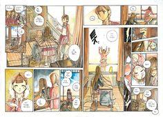 Comic Page, Manga, Ghibli, Storyboard, Vintage World Maps, Novels, Comic Books, Fandoms, Draw