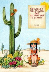 The World Is Full Of Cactus, Engelbreit