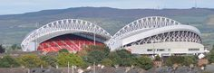 The great Thomond Rugby park stadium is open for tours and just 20 minutes away from The Lakeside Hotel Killaloe Lakeside Hotel, Hotels Near, Sydney Harbour Bridge, Rugby, Attraction, Things To Do, Castle, Tours, Football