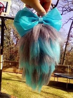 bow topped yarn tail    Cheshire cat tail by ~Brittastic174 on deviantART
