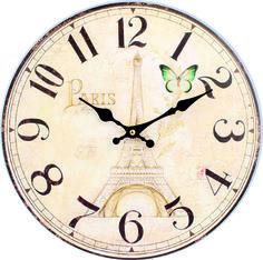 nstenn hodiny z dreva stunden wooden clock spiegeltakt zegar lustro wall