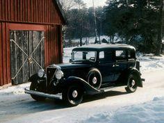 Volvo PV 650 Series - Volvo PV 653 (1933-34, 230 cars built)
