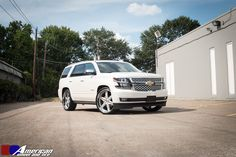 """2015 Chevrolet tahoe complete with 26"""" custom built/ordered Asanti Wheels with Lexani Tires http://www.americanwheelandtire.com/houston-whe…/by-vehicle/ We finance! No credit needed! $49 down! Instant approval! 90% approval rating! 90 day option! Call (713) 682-1085 or apply online below ------------------------------->http://tinyurl.com/z4cr3do #chevrolet #tahoe #asanti #silverado #gmc #duramax #lifted #offroad #trucks #carporn #toyota #corvette #truck #4x4 #jeep #diesel #cars #ss #v8…"""