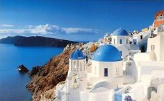 Greece! First thing I'd so is plop myself somewhere, find an amazing view (which won't be hard to find), take out my sketchbook/canvas and starting painting or drawing.
