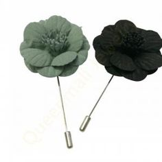 flower lapel pin unisex boutonniere stick brooch