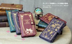 Fairytale Book Jacket Cases - These Disney iPhone Cases Look Classic Fairytale Books (GALLERY)