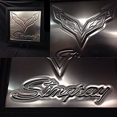 chevy corvette stingray Custom interior. sheet metal aluminum art bead roll door panels console bead rolled work V8 sheetmetal
