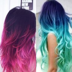 Me and my sister are TOTES doing this. #MermaidHair I Lavvv It