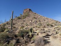 Brown's Mountain (McDowell Sonoran Preserve), lots of hikes start here.