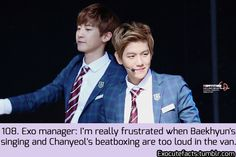 Exo Facts. They're always the loudest ones .