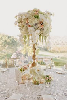 Tall Centerpieces - Belle The Magazine