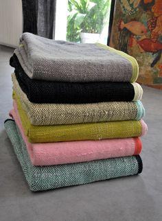Honoré Décoration - Textile - Couverture liseré