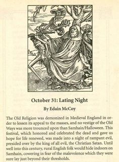 a Brief History of Samhain